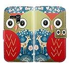 Harryshell Fashion Lovely Owl Design Pu Leather Case for Samsung Galaxy Mini S3 S3mini I8190 (C)