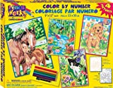Dimensions Needlecrafts Paintworks/Pencil by Number, Animal Friends