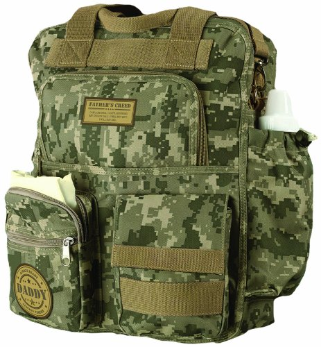 Lillian Rose Diaper Bag, Daddy Military