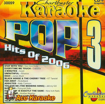 KARAOKE: POP HITS OF 2006 - 3