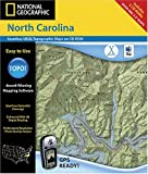 National Geographic TOPO! North Carolina Map CD-ROM (Mac)
