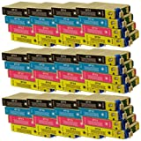 48 CiberDirect Compatible Ink Cartridge Replacements for Epson T0715 (T0711-4 multipack).