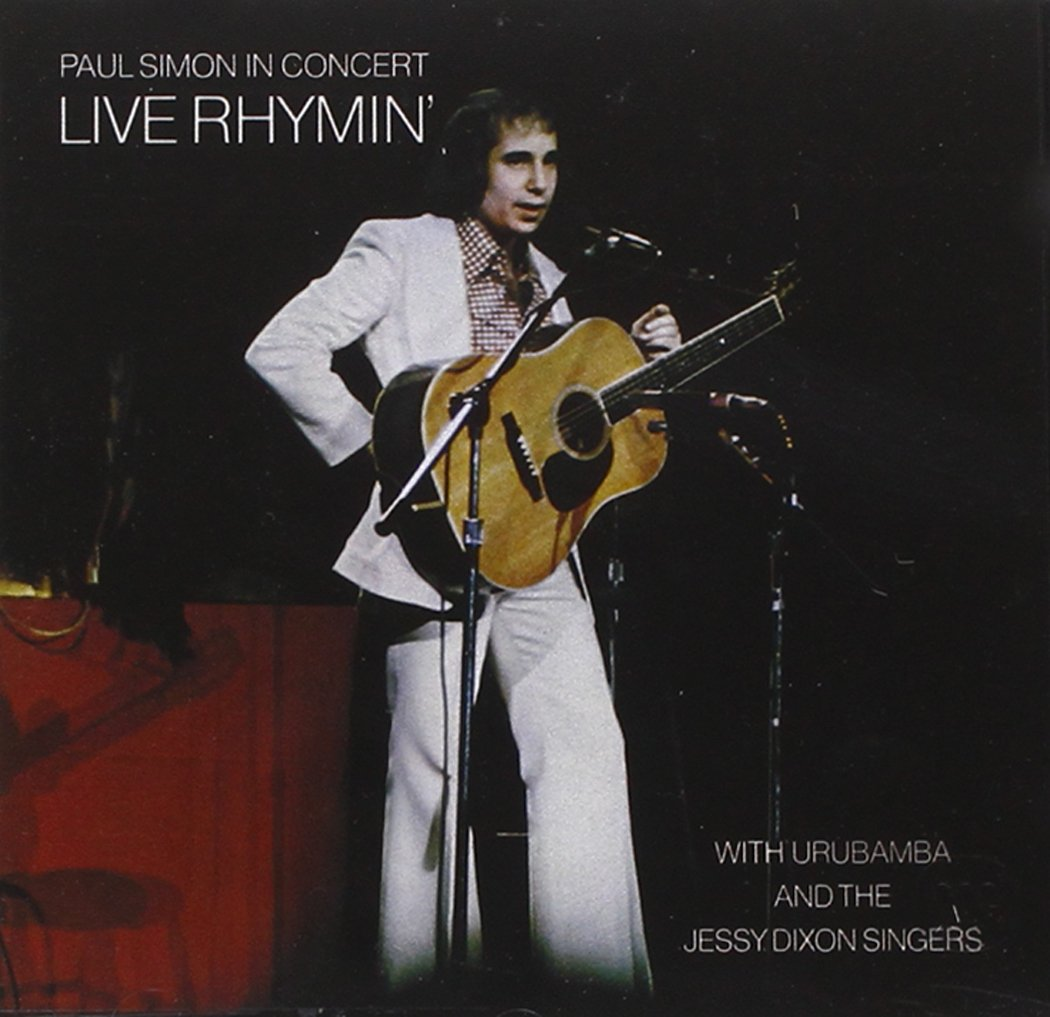 Paul Simon Live Rhymin'