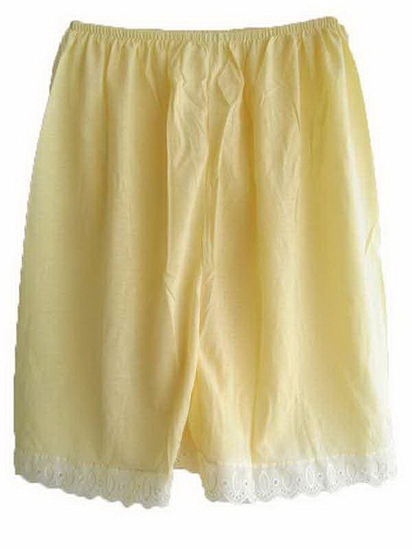 Damen Cotton Halb Slips Neu UPPCYW YELLOW Half Slips Women Pettipants Lace jetzt kaufen