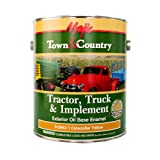 Majic Paints 8-0962-1 Town & Country Tractor, Truck & Implement Oil Base Enamel Paint, 1-Gallon, Caterpillar Yellow (Color: Caterpillar Yellow, Tamaño: Gallon)