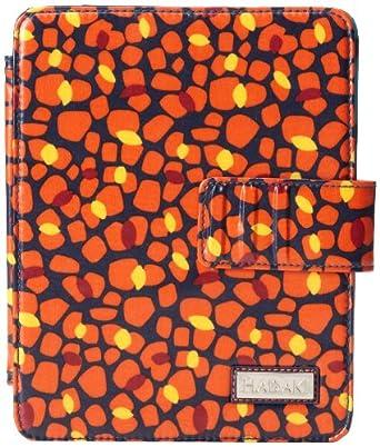 Hadaki Coated Ipad Wrap Notebook Bag,Arabesque Pebbles,One Size