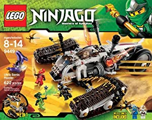 LEGO Ninjago Ultra Sonic Raider Set 9449 from LEGO Ninjago
