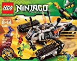 613Fq6p%2BWDL. SL160  LEGO Ninjago Ultra Sonic Raider Set Dragon 6 Figures Cole ZX, Jay ZX, Kai ZX, Zane ZX, Exclusive Pythor & Spitta 9449
