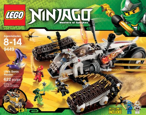 LEGO Ninjago Ultra Sonic Raider Set 9449 Amazon.com
