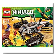 Neat-Oh LEGO Ninjago Battle Case - Green