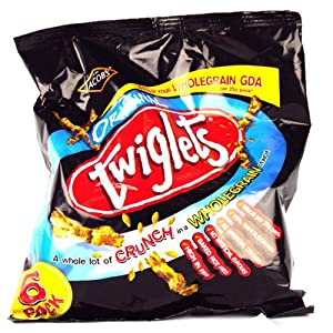 Jacobs Twiglets 6 Pack 180g