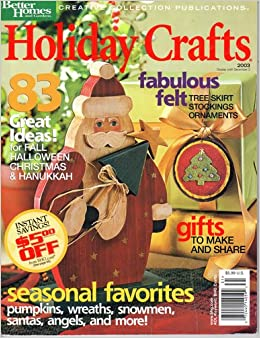 Christmas crafts better homes and gardens creative Better homes and gardens christmas special