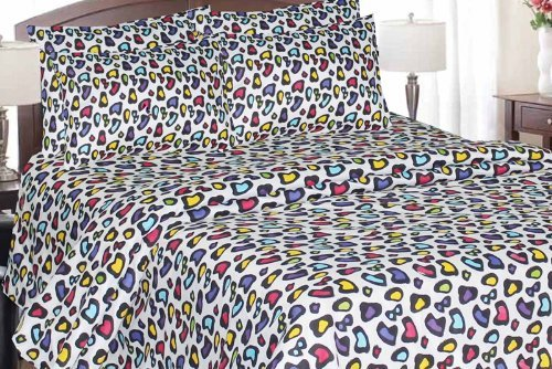 Leopard Sheets King front-1028042