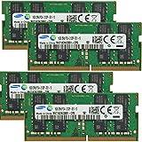 Samsung Original 64gb ( 4x 16gb )ノートPCメモリアップグレードfor MSIワークステーションwt726ql-283us ( 6th Gen ) ddr42133MHz pc4–17000SODIMM 2rx8cl151.2V DramノートブックAdamanta