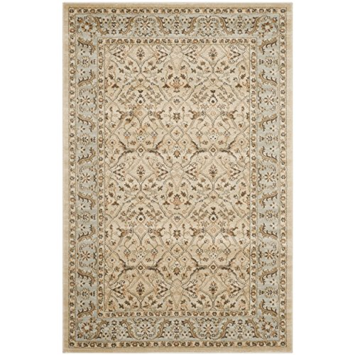 Safavieh Florenteen Collection FLR126-1280 Ivory and Grey Area Rug, 5 feet 1 inches by 7 feet 7 inches (5'1