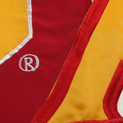 NCAA USC Trojans 28'' x 44'' Cut-Out Applique Banner Flag - Gold/Cardinal