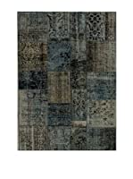 Design Community By Loomier Alfombra Anatolian Patchwork Gris/Azul 300 x 250 cm