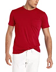 Threads 4 Thought Men's Short Sleeve Pocket Crew Tee, Baked Apple, X-Large