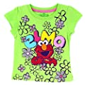 Sesame Street Elmo Toddler Girls Short Sleeve Tee