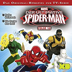 Der ultimative Spiderman 10 Hörspiel