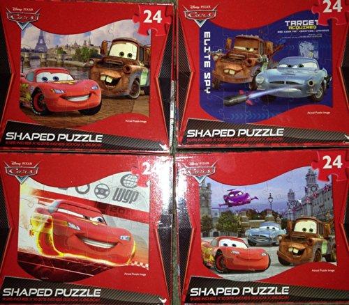 Cars Jigsaw Puzzle - Shaped - 24 pc (Cars may vary) - 1