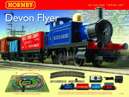 Hornby  R1121 Devon Flyer 00 Gauge  Train Set