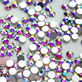 NEW ThreadNanny CZECH Quality 10gross (1440pcs) HotFix Rhinestones Crystals - 5mm/20ss, AB Crystal Color (Color: Clear / Crystal)