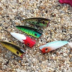 3pcs Sinking Rubber Lures 2016 Bass CrankBait Lot Carp Fishing 6.5g Soft