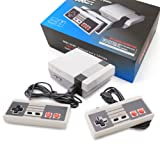 ZTPOWER Classic Game Consoles,FC Mini Retro Game Consoles Built-in 620 TV Video Games with Double Controllers(2 Key Handles)