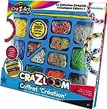 Crazart - Kk17114 - Loisirs Créatifs - Elastiques Loom - Coffret Création Deluxe - Basic