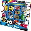 Crazart - Kk17114 - Loisirs Cr�atifs - Elastiques Loom - Coffret Cr�ation Deluxe - Basic