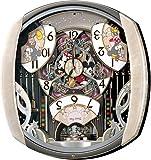セイコークロック Disney (ディズニータイム) 掛け時計 ミッキー&フレンズ 電波時計 ツイン・パ FW563A