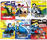 Hot Wheels 2016 Marvel Pop Culture Comic Heroes Set of 6 - The Punisher, Iron Fist, Ghost Rider, Hawkeye, Black Widow, & Dr Strange [並行輸入品]