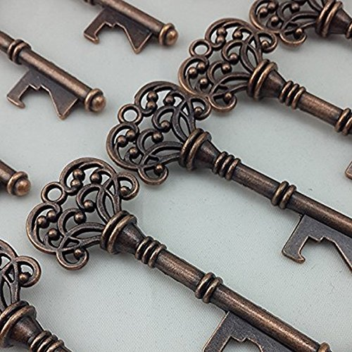 Generic Bottle Openers Copper Wedding Favors Rustic Decoration 40pcs (Wedding Favor Bottle Opener compare prices)