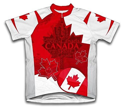 Canada Art Cycling Gear
