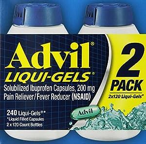 Advil Liquid Gels 240 Ct.