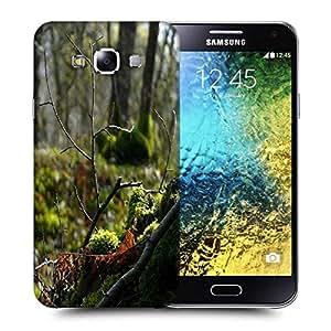 Snoogg Broken Branch Printed Protective Phone Back Case Cover ForSamsung Galaxy E5