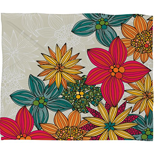 "DENY Designs Valentina Ramos Fleece Throw Blanket, Phoebe, Medium 60"" X 50"""