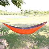 ECOOPRO Ultralight Double Size Camping Hammock for Backpacking, Travel, Beach, Yard Orange