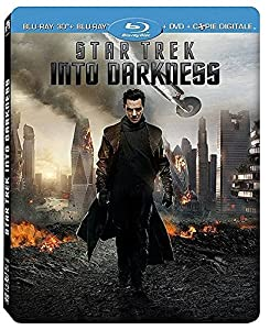 Star Trek Into Darkness [Combo Blu-ray 3D + Blu-ray + DVD + Copie digitale - Édition boîtier SteelBook]