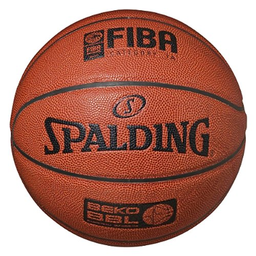 Spalding BEKO Basketball, orange/schwarz, 7