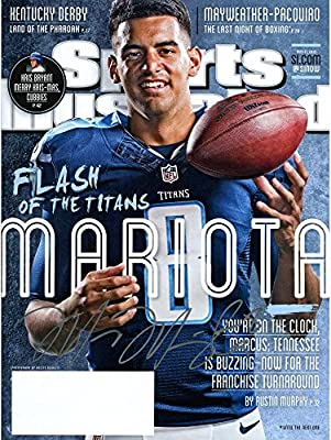 Marcus Mariota Tennessee Titans Autographed May 11, 2015 Sports Illustrated Magazine - Fanatics Authentic Certified