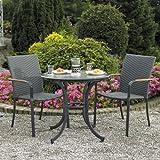 Home & Garden Direct Naples Cafe Bistro Set for 2