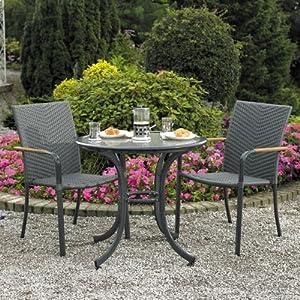 home garden direct naples cafe bistro set for 2 amazon