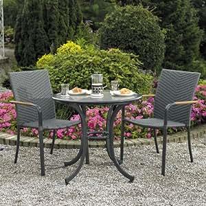 alfresia naples bistro set garden outdoors