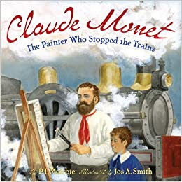 Great book for learning about Monet for elementary kids! CC Cycle 2 Week 16