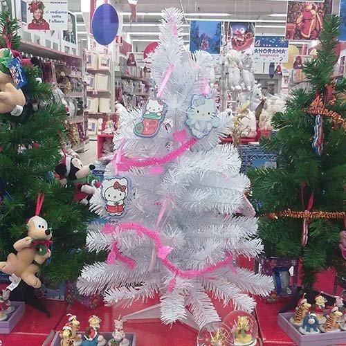 Albero-di-Natale-Hello-Kitty-con-Decorazioni-e-Ghirlanda-Cameretta-Bambina