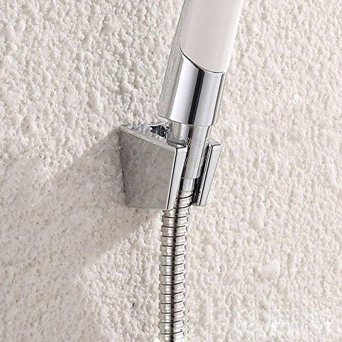 apl a001 2 wall mounted shower bracket kitchen hand held sprayer holder brus. Black Bedroom Furniture Sets. Home Design Ideas