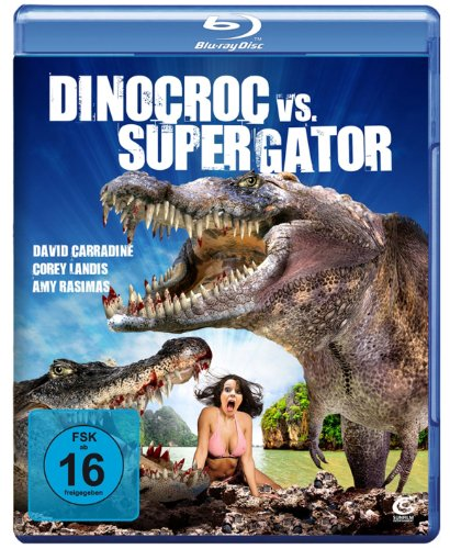 Dinocroc VS Supergator [Blu-ray]