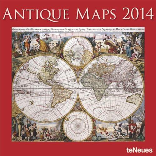 2014 Antique Maps Calendar